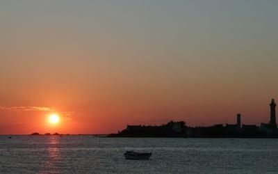 coucher de soleil à Penmarch