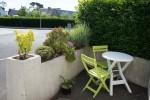 location loctudy aménagement de la location - terrasse