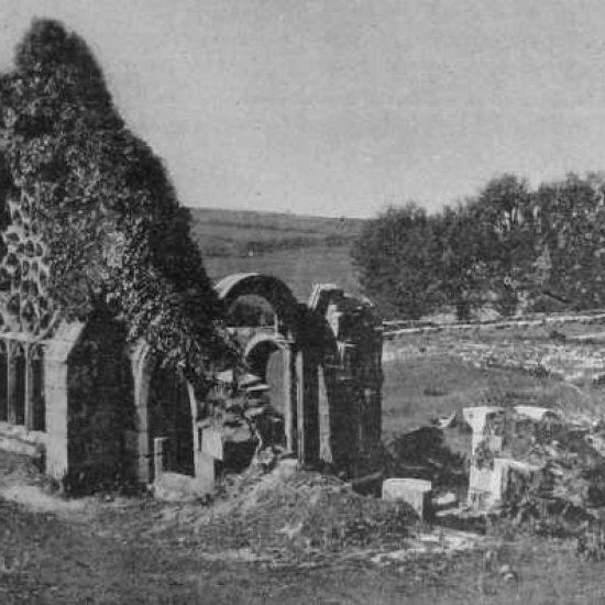 Ruines de Languidou en 1893