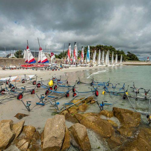 location Loctudy cercle nautique durant la compétition des RS500 Août 2014