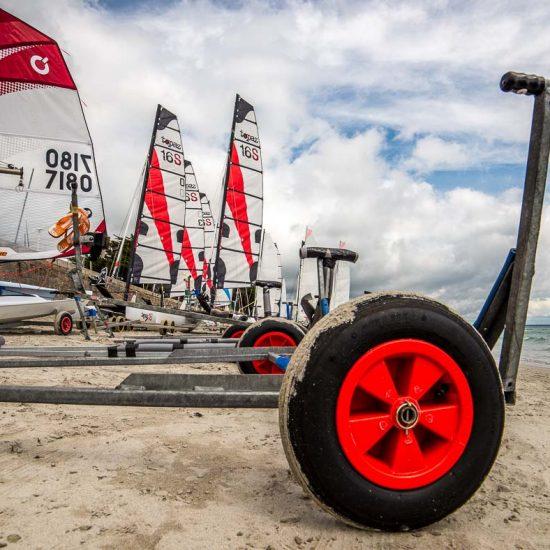 cercle nautique de loctudy catamarans Topaz16s et dériveurs Openbic