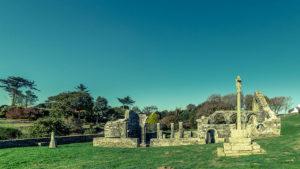 Chapelle de Languidou et son calvaire