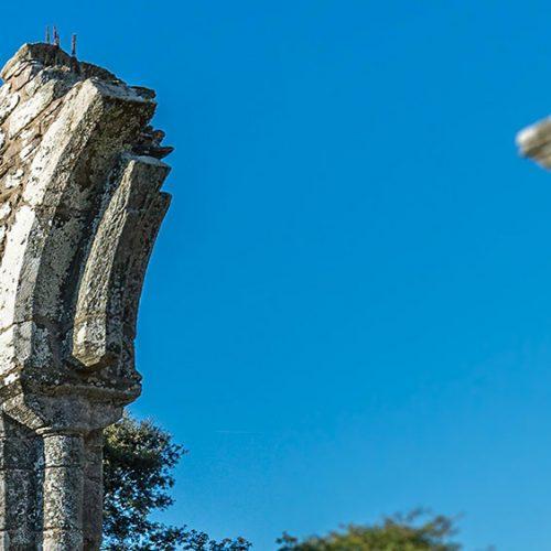 Chapelle de Languidou grande arcade nord