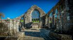 Chapelle de Languidou nef rosace