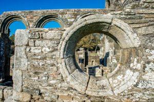 Chapelle de Languidou - l'oculus