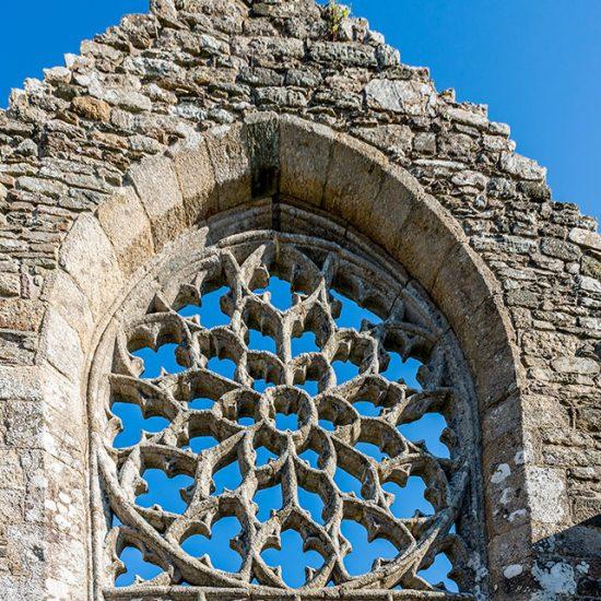 Chapelle de Languidou rosace