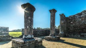Chapelle de Languidou piles