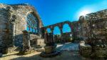 Chapelle de Languidou - rosace - arcades