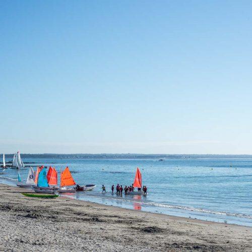 location Loctudy centre nautique optimists sur Langoz